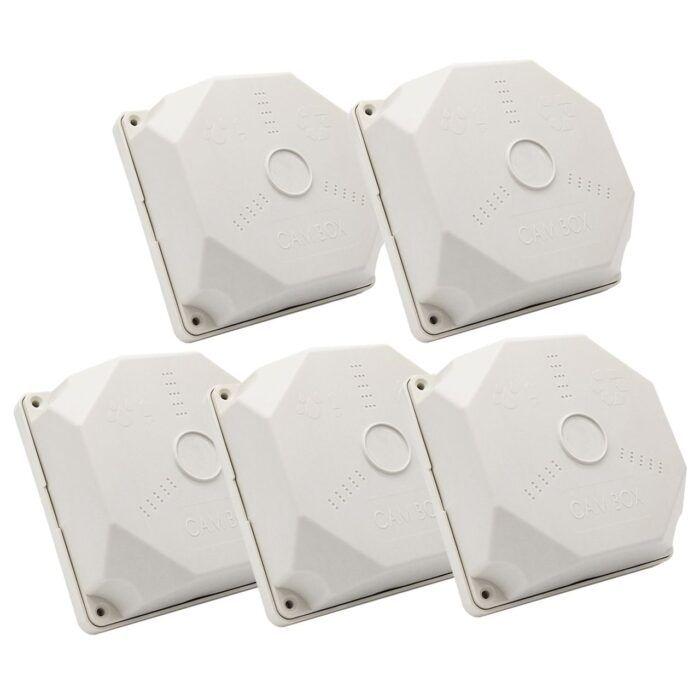 پایه دوربین کم باکس مدل CA-15 بسته 5 عددی