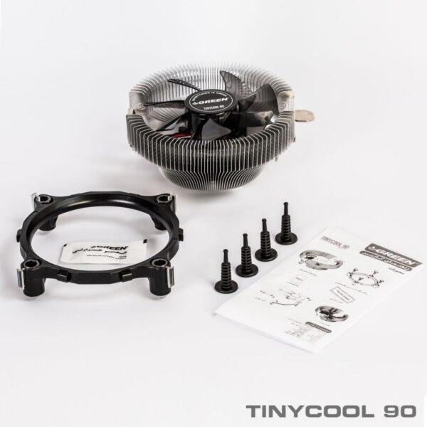 خنک کننده پردازنده گرین مدل TINYCOOL 90 - Rev1.1