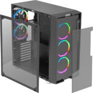 کیس کامپیوتر گرین مدل Z6 RGB ARTEMIS