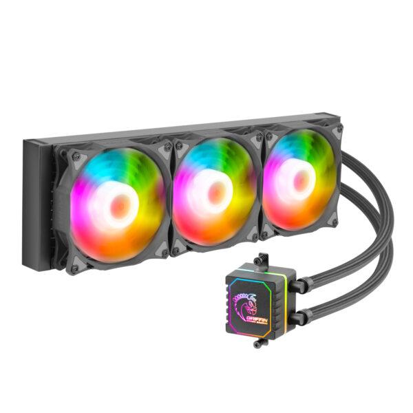 خنک کننده پردازنده گرین مدل  GLACIER 360 ARGB